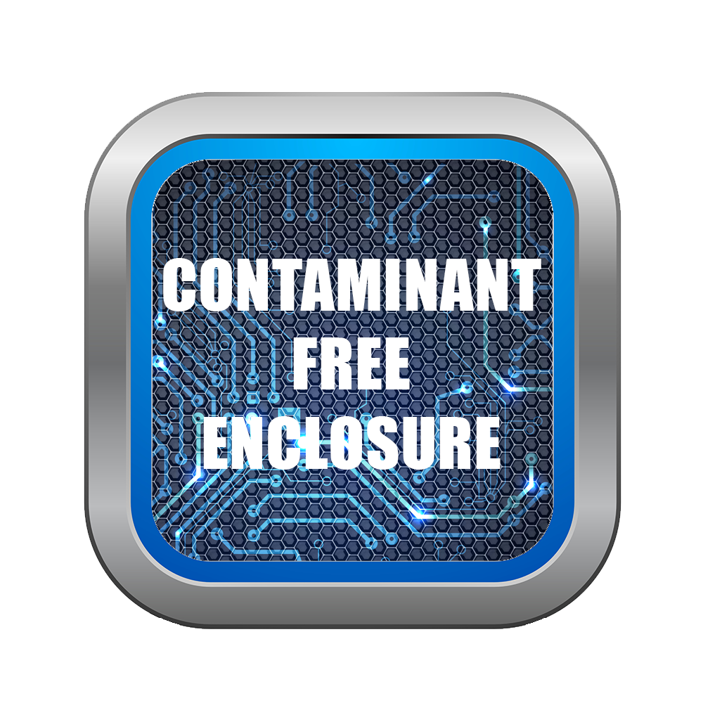CONTAMINANT FREE ENCLOSURE